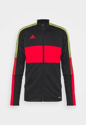 TIRO - Training jacket - black/red
