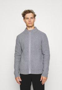 Filippa K - ASHER ZIP  - Cardigan - mid grey - 0