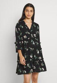 Vero Moda - SIMPLY EASY - Day dress - black - 0