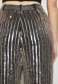 MANÉ - ARGENTO TROUSERS - Trousers - silver - 3