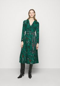 Diane von Furstenberg - AMIYA - Vapaa-ajan mekko - multi/emerald - 0