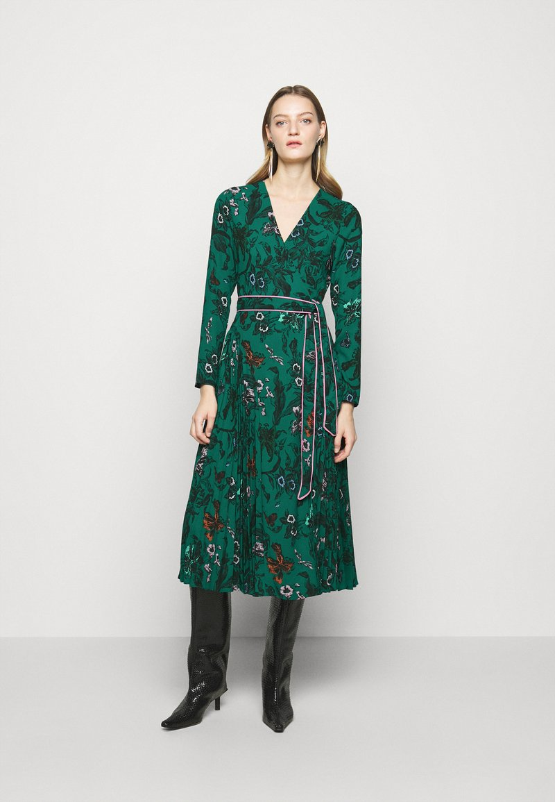 Diane von Furstenberg - AMIYA - Vapaa-ajan mekko - multi/emerald