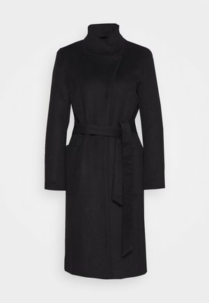 JASMINA PERLE COAT - Zimní kabát - black