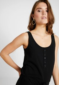 Object - OBJSTEPHANIE MAXI DRESS  - Maxi dress - black - 3