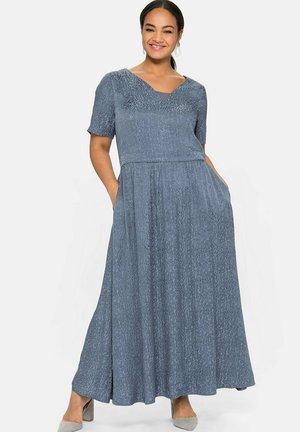 Maxi dress - stahlblau