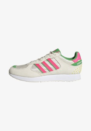 SPECIAL 21  - Sneakers basse - chalk wihte/soft pink/energy green