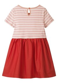 Boden - MIT FARBWECHSELNDEN PAILLETTEN - Day dress - dolphin pink/strawberry - 1