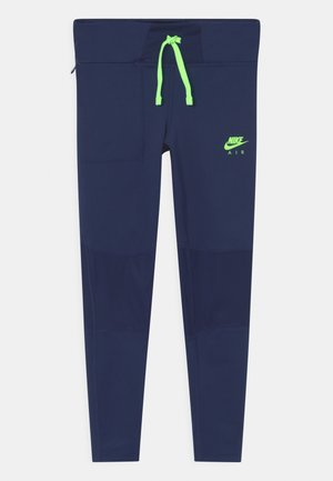 AIR - Leggings - blue void/lime glow