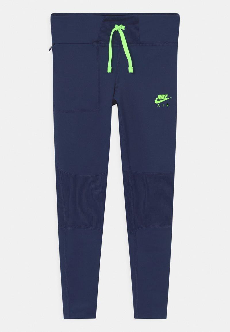 Nike Performance - AIR - Punčochy - blue void/lime glow