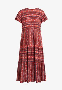 Louche - THEODEN FOLKSTRIPE - Day dress - red - 5