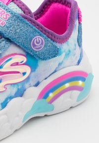 Skechers - RAINBOW RACER - Trainers - blue - 5