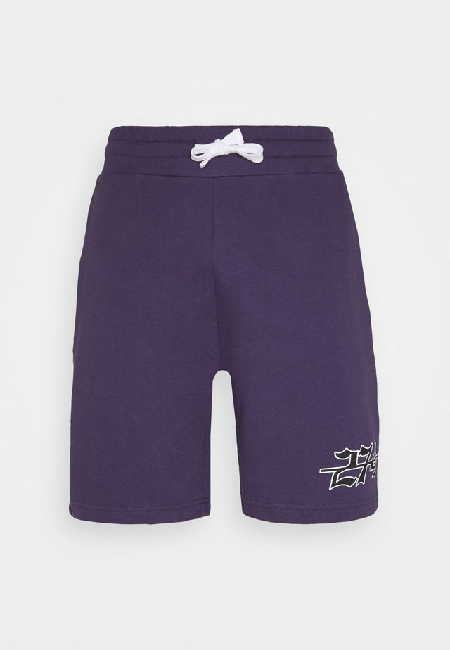 APPLIQUE - Shorts - purple