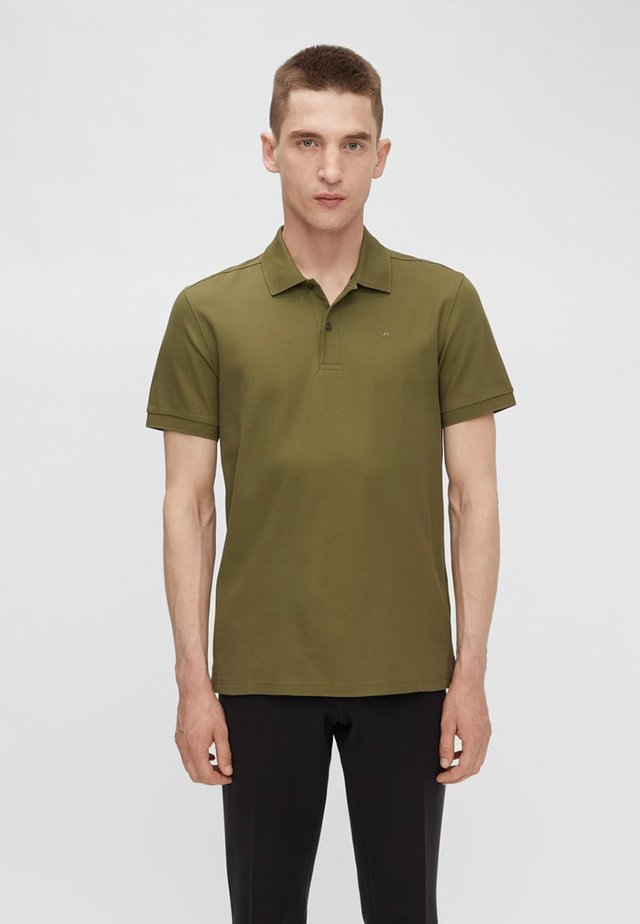 TROY - Polo - moss green