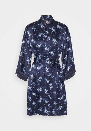 KIMONO - Dressing gown - navy prt