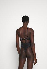 Coco de Mer - KATHARINE BODYSUIT - Body - black/silver-coloured - 2