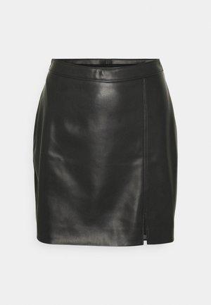 SEPT CHAIN SKIRT - Mini skirt - black