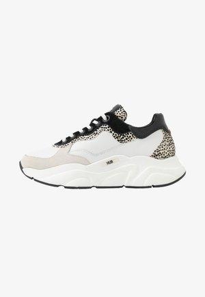 ROCK - Trainers - offwhite/cheetah/black