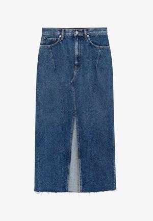 DENIM70 - Denim skirt - tmavě modrá