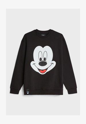 DISNEY MICKEY MOUSE - Sweatshirts - black