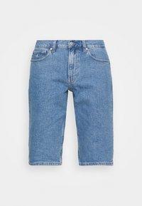 PRIDE GRAPHIC UNISEX - Szorty jeansowe - denim medium