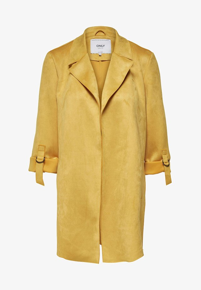 Manteau court - yellow