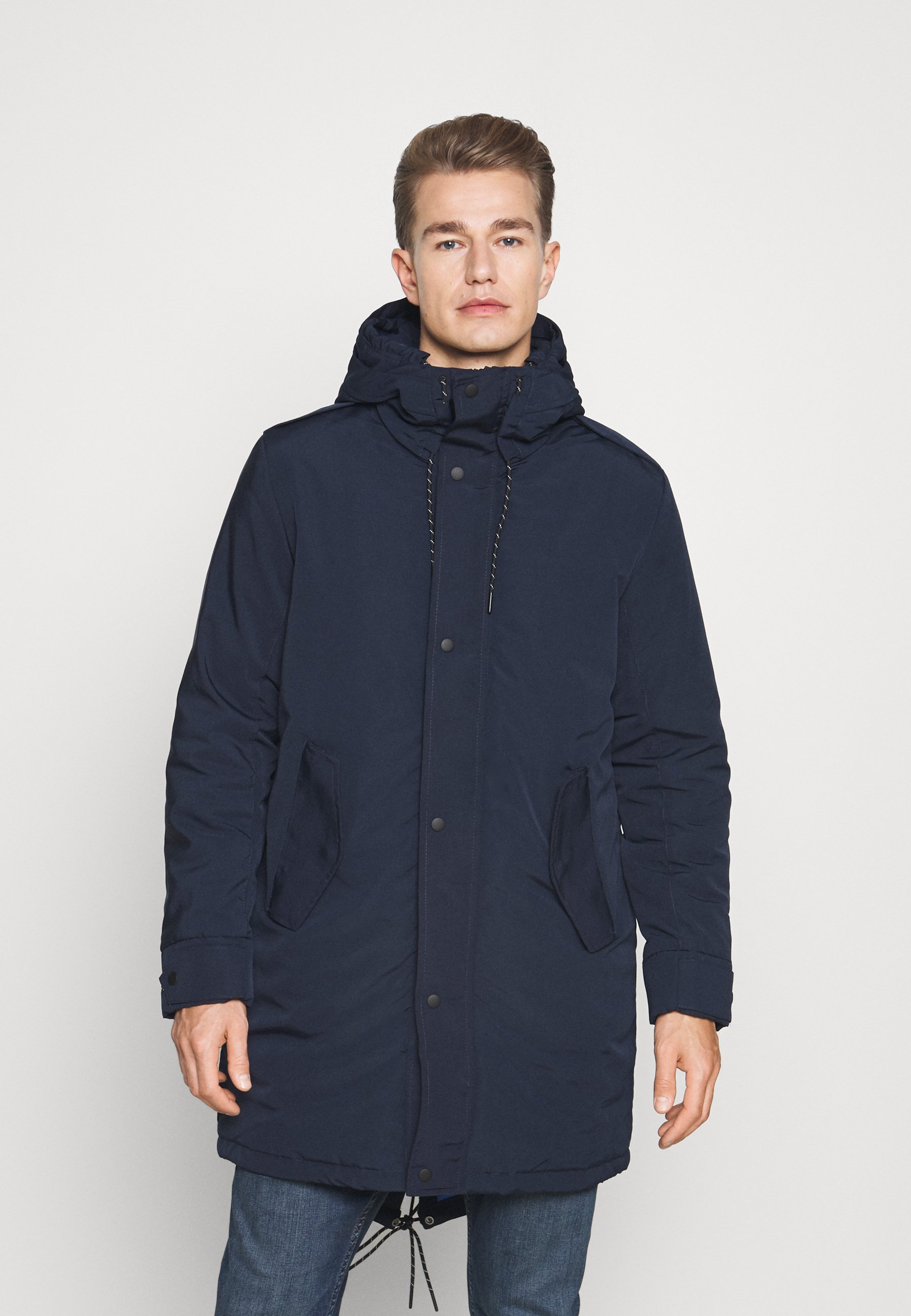 Men SLHSUST ICONICS FISHTAIL PARKA - Winter coat