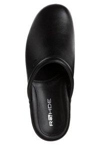 Rohde - Slippers - schwarz - 6