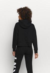 DKNY - EXPLODED LOGO HOODIE - Sweatshirt - black - 2