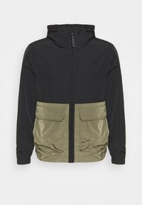 Calvin Klein - CRINKLE HOODED WINDCHEATER - Summer jacket - green - 0