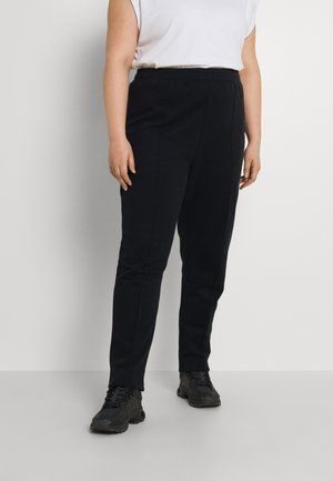 SPIRITUAL TAPERED JOGGERS - Tracksuit bottoms - black