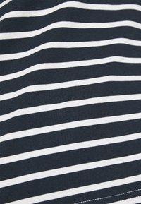 Selected Femme Curve - SLFANDARD BOAT NECK - Long sleeved top - snow white - 5