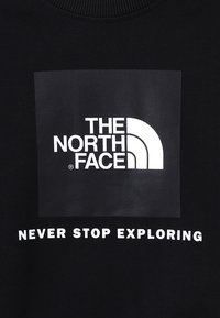 The North Face - YOUTH BOX CREW UNISEX - Bluza - black - 2