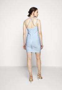Hervé Léger - CRYSTAL DRESS - Sukienka koktajlowa - sky blue - 2