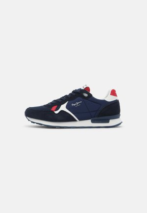 BRITT MAN - Sneakersy niskie - navy