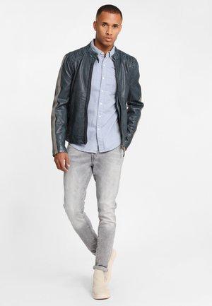 GBTrevis SF LEGV - Leather jacket - navy