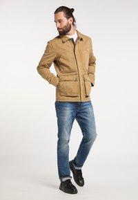 DreiMaster - Light jacket - dunkelsand - 1
