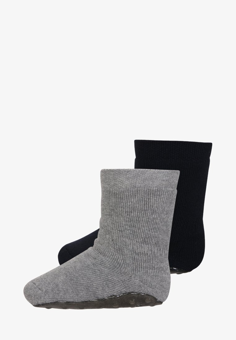 Ewers - PLAYSOCKS MINI KIDS 2 PACK - Socks - marine/grau meliert