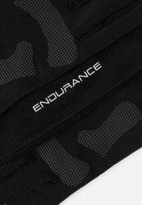 Endurance - GUBENG RUNNING SET UNISEX - Gorro - black - 4