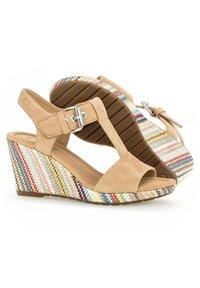 Gabor - Wedge sandals - caramel - 2