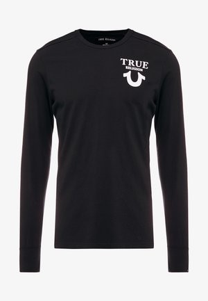 LONGSLEEVE LOGO  - Long sleeved top - black