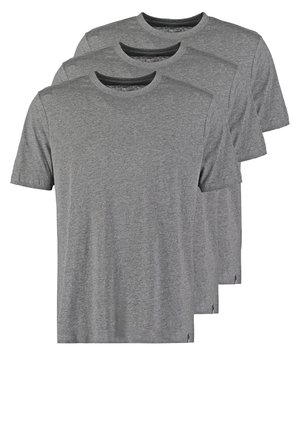 3PACK - T-shirts basic - dark grey