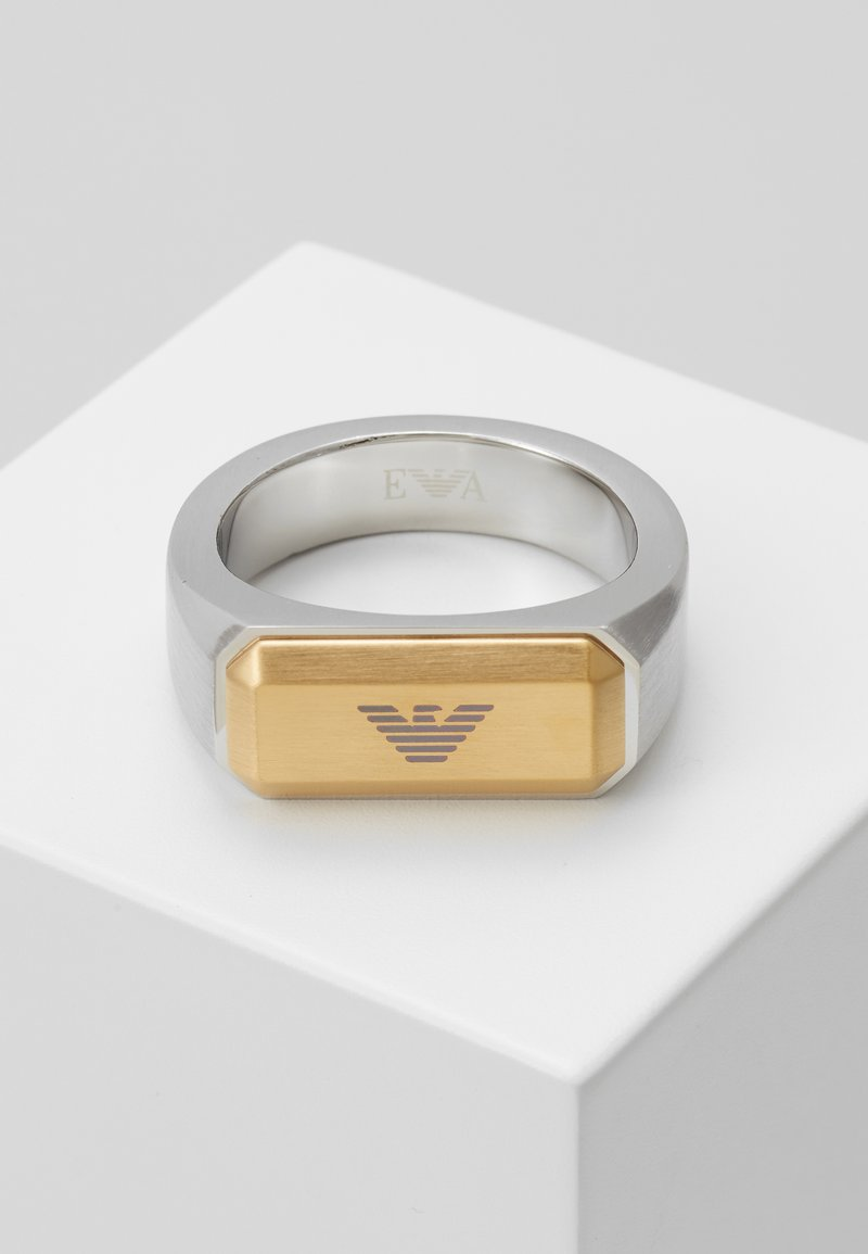 Emporio Armani - Ring - silver-coloured