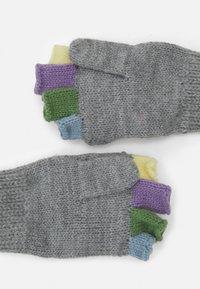 Barts - PUPPET BUMGLOVES UNISEX - Gloves - hether grey - 1