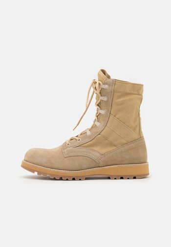 STORM BOOT - Lace-up ankle boots - beige