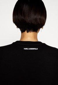 KARL LAGERFELD - IKONIK - Bluza - black - 5