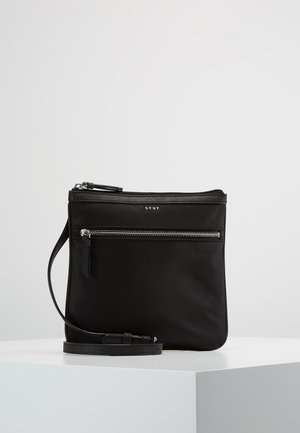 CASEY ZIP CROSSBODY - Across body bag - black