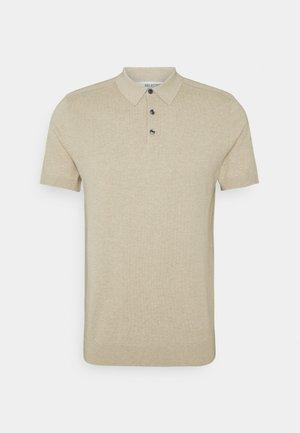 SLHBERG - Polo shirt - kelp/melange