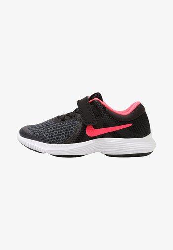 REVOLUTION 4 - Neutral running shoes - black/white/racer pink