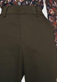 Ivy Copenhagen - ALICE WIDE PANT  - Pantalones - army - 5