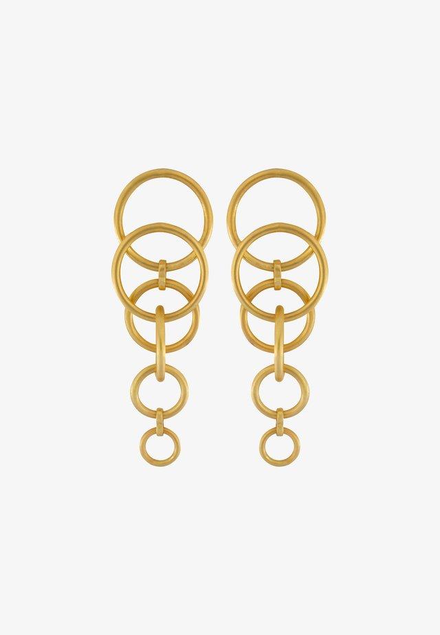 TABITHA MULTI - Oorbellen - gold plating